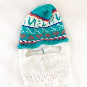 90s IGLOO Full Face Beanie Hat Ski Mask Winter